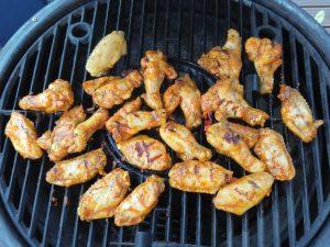 Wingsit grillissä